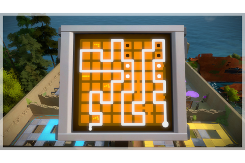 the witness - Why is my solution for the final Keep puzzle ...