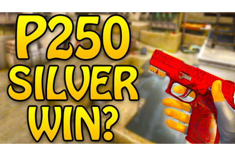 CSGO Silver Game With P250 Only? - CS GO Competitive - YouTube