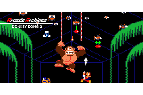 Arcade Archives DONKEY KONG 3 | Nintendo Switch download ...
