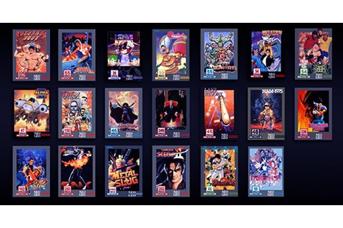Play Neo Geo Games Online Free | Best NeoGeo Emulator