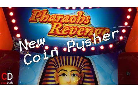 NEW! Pharaohs Revenge Coin Pusher | ClawD00d - YouTube