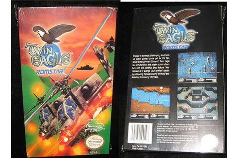 Twin Eagle... New Sealed Vintage Nintendo by ...