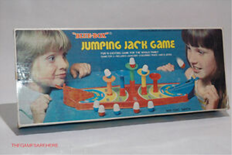 Jumping Jack Game from Blue Box VINTAGE