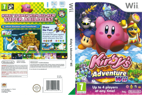 [Wii] Kirby's Adventure Wii(PAL) (Multi 6 incluyr ESP) (MG)