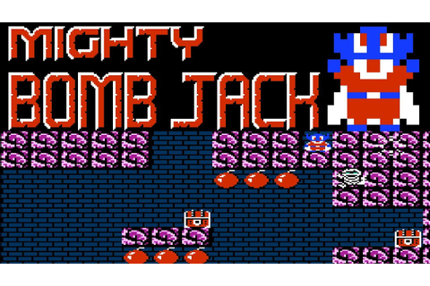 Mighty Bomb Jack (NES) | Playthrough - YouTube