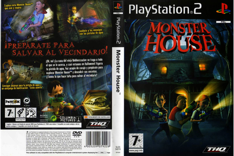 Monster House PS2 free download full version ~ Mega ...