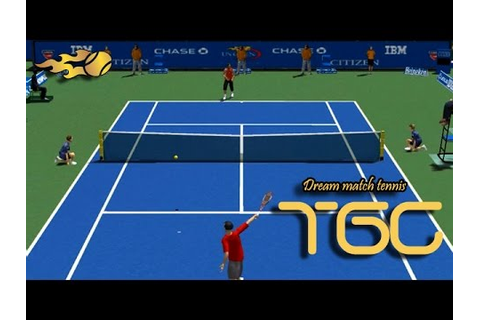 Dream match tennis pro US OPEN 2014 gameplay - YouTube