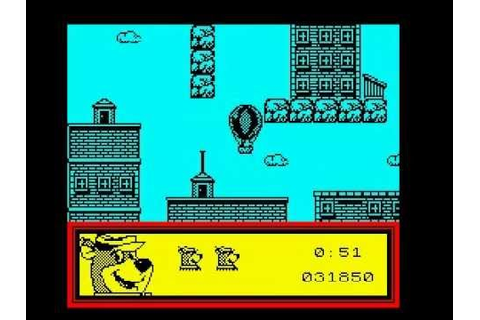 Yogi's Great Escape Walkthrough, ZX Spectrum - YouTube
