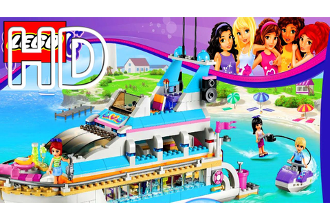 Lego Friends Dolphin Cruiser Game Full HD - YouTube