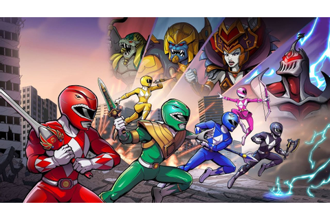 Mighty Morphin Power Rangers Mega Battle-PS4 Live Stream ...