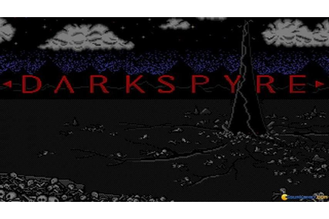 Darkspyre gameplay (PC Game, 1990) - YouTube