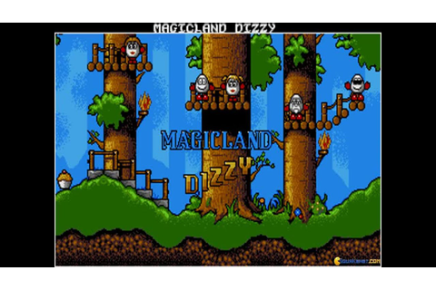 Dizzy: Magic Land of Dizzy gameplay (PC Game, 1990) - YouTube