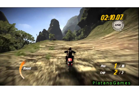 Motorstorm Pacific Rift - Racing With Bike - Crazy Final ...