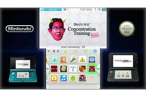 Brain Age Concentration Training 3DS Roms Download