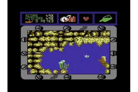 """Mermaid Madness"" [C64] Full Longrun / Walkthrough - YouTube"