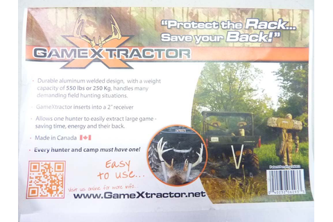 GAME EXTRACTORS FOR HUNTING