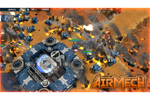 Carbon Games Needs Your Help in Bringing 'AirMech' to ...