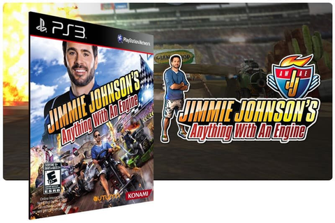 Jimmie Johnsons Anything With An Engine Ps3 Psn Mídia ...