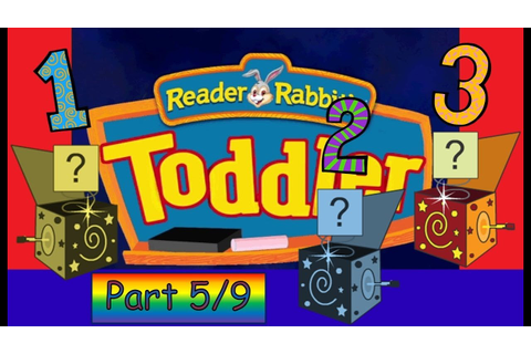 Reader Rabbit Toddler Part 5/9 - Pop and Play Place - YouTube
