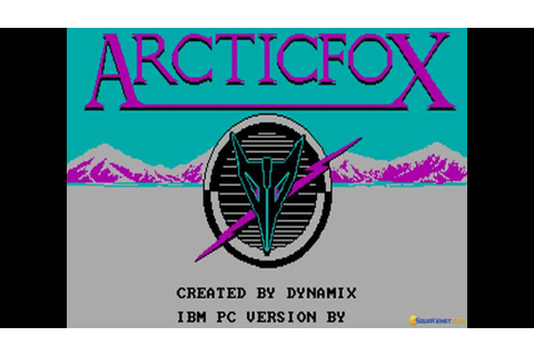 Arctic Fox gameplay (PC Game, 1986) - YouTube