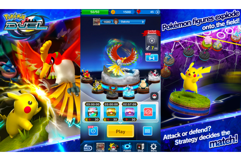Pokemon Duel is a brand new game for iOS and Android ...