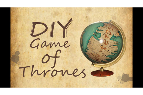 Game of Thrones Globe - DIY - YouTube