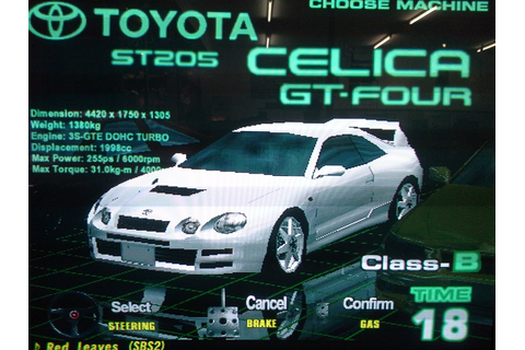 Toyota Celica GT-Four ST205 (Battle Gear 2V) by Anjasmara ...