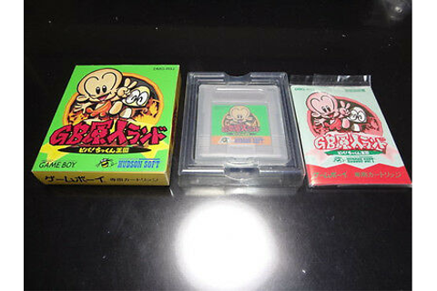 GB Genjin Land Nintendo Game Boy Japan 4988607005146 | eBay