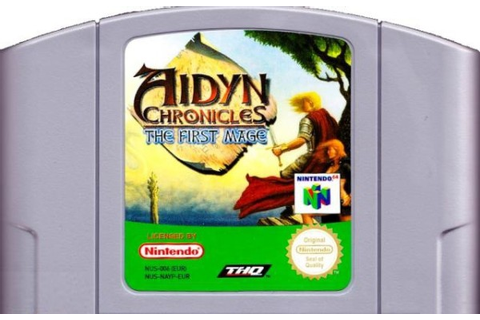 Aidyn Chronicles the first mage - N64 - Jeux Occasion Pas ...
