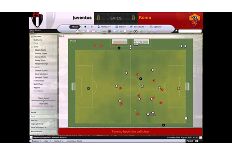 The Best Tactic For Football Manager 2008 - YouTube