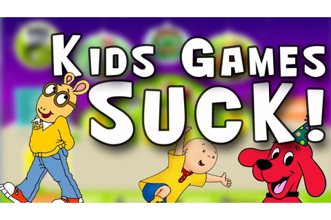 KIDS GAMES SUCK | PBS Kids Educational Games [Caillou ...