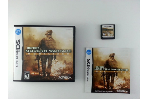 Call of Duty: Modern Warfare Mobilized game for Nintendo ...