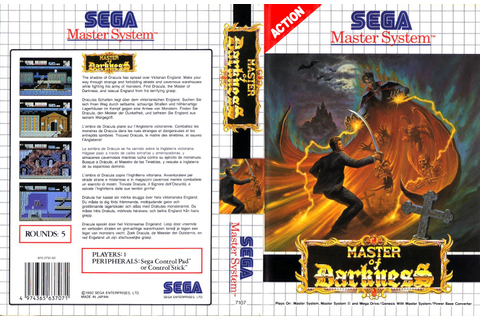 Sega Master System M Game Covers Box Scans Box Art CD ...