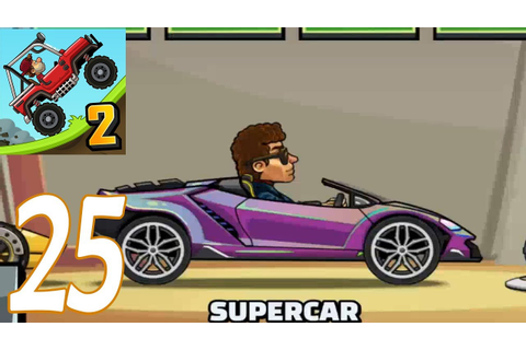 Hill Climb Racing 2 - SUPERCAR New Car Gameplay ...