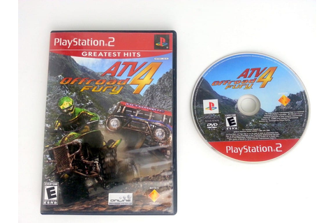 ATV Offroad Fury 4 game for Playstation 2 | The Game Guy