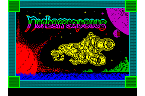 Nonterraqueous (1985) by Mastertronic ZX Spectrum game