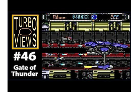 """Gate of Thunder"" - Turbo Views #46 (TurboGrafx-16 / Duo ..."