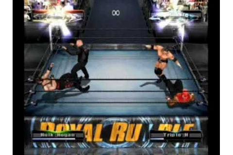 WWE Wrestlemania XIX (19) game The Royal Rumble Part 2/3 ...
