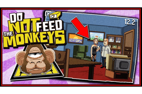 ARE YOU A NAUGHTY BOI? - Do Not Feed The Monkeys Gameplay ...