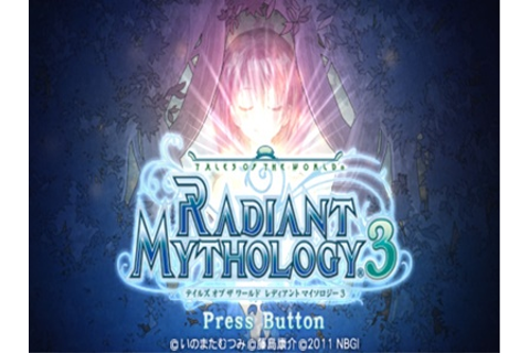 Tales of The World Radiant Mythology 3 English Patch PSP ...