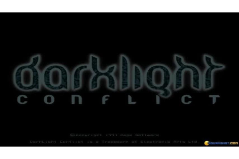 Darklight Conflict gameplay (PC Game, 1997) - YouTube