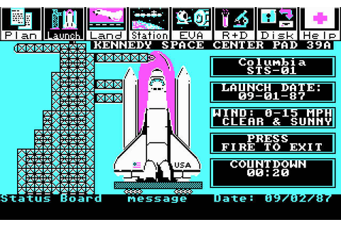 Download Project: Space Station simulation for DOS (1987 ...