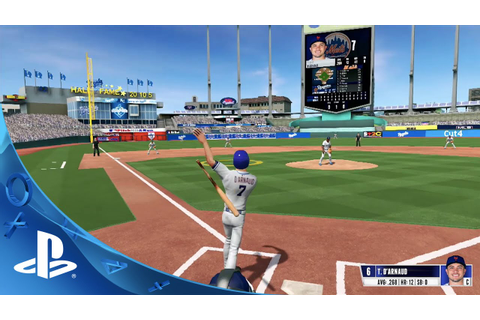 R.B.I. Baseball 16 - Gameplay Trailer | PS4 - YouTube