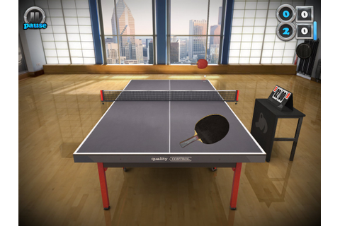 Table Tennis Touch is one of our favourite iOS games of ...