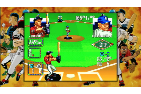 CGRundertow BASEBALL STARS 2 for Neo Geo / PS3 Video Game ...