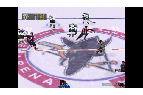 NHL FaceOff 99 - Gameplay PSX / PS1 / PS One / HD 720P ...