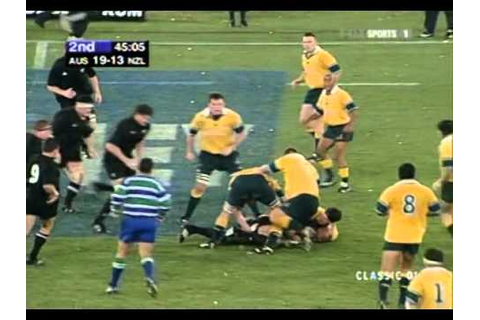 Rugby Bledisloe Cup 2001 - Australia vs. New Zealand - YouTube