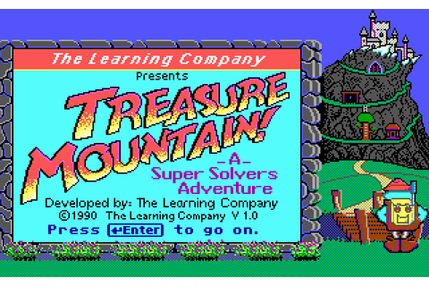 Download Super Solvers: Treasure Mountain! - My Abandonware