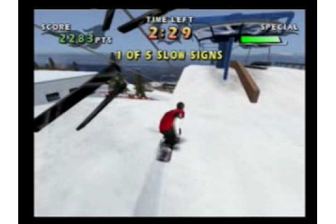 Shaun Palmer's Pro Snowboarder - Gameplay - Playstation 2 ...