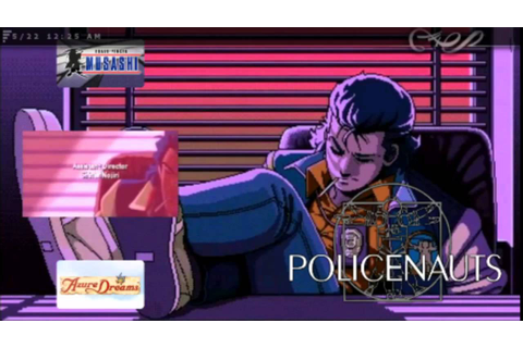 Policenauts Custom Eboot - YouTube